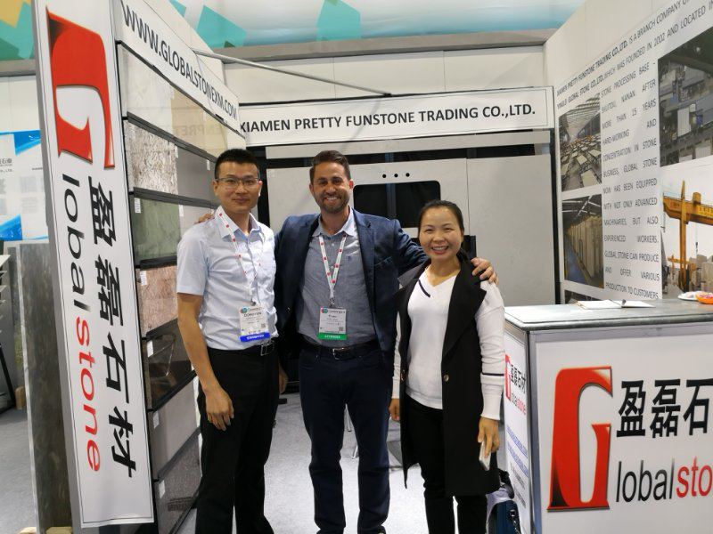 Global Stone Participated in 2018 Coverings in Atlanta